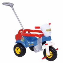 Motoca Tico Tico Bichos Azul Com Som e Luzes - Magic Toys