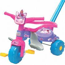 Motoca Tico Tico Unicornio Love Com Luz Rosa Magic Toys -