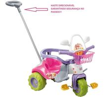 Motoca Tico Tico Zoom Meg Rosa 2711 Magic Toys Triciclo -