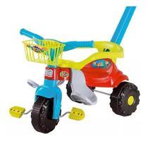 Motoca Triciclo Festa Bebê Cestinha - Magic Toys