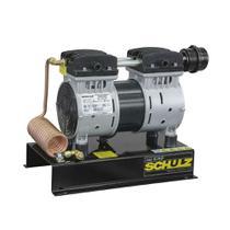Motocompressor Ar Schulz 915.0391-0 CSD-5/AD 1Cv Com Base Preto/Cinza 220V -