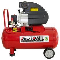 Motocompressor de Ar 8,7 pés³/min 2,0HP 50 Litros 220V - MOTOMIL -