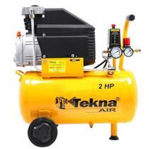 Motocompressor de Ar Tekna 24L 115PSI CP8525-2C 220V -