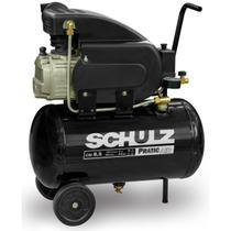 Motocompressor pistao schulz pratic air csi-8.5/25 2cv monofasico 127v -