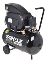 Motocompressor Pratic Air 8,5 Pés 2 HP 25L Monofásico - SCHULZ-CSI-8525-AIR 220v -
