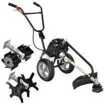 Motocultivador Moto-Roçadeira Multifunção à Gasolina Motor 2T ZT-630 Z-MAX -