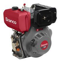 Motor A Diesel Branco BD-5.0 Partida Elétrica 211cc 5Cv -