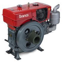 Motor A Diesel Branco BDA-18.0RA 17.4Cv 90.3cc Partida Manual -