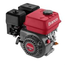 Motor a Gasolina 5.5Cv Horizontal Partida Manual B4T5.5H Branco -