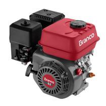 Motor A Gasolina Branco B4T-6.5H 4T 6.5CV Com Partida Elétrica -