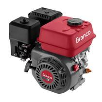 Motor A Gasolina Branco B4T-7.0H 6.9Cv Horizontal Partida Manual -