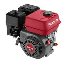 Motor A Gasolina Branco B4T6.5H 6.5Cv Horizontal Partida Manual -