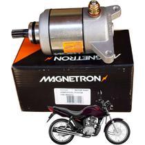 Motor de Partida Fan 125 2009 em diante / Cg Cargo Magnetron -
