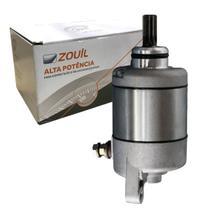 Motor de Partida Zouil Aplicação Honda CG 125/ 150 e NXR 125/ 150 -