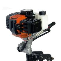 Motor de Popa p/Barco Bote Hélice Alumínio 62cc 2T HAS 5050 - Sa Tools