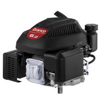 Motor Eixo Vertical 4 Tempos 6.0HP Gasolina Branco -