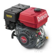 Motor Gasolina Branco 13hp 389cc 4 Tempos Partida Manual -