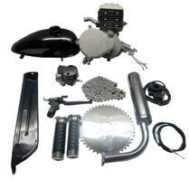 Motor para Bicicleta a Gasolina Bike Motorizada Kit Completo - Deko