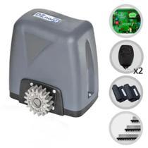 Motor Portão Rossi DZ Nano Turbo 600Kg Deslizante Eletrônico Com Abertura Rápida 220v -