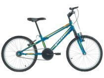 Mountain Bike Aro 20 Polimet Delta Downhill - Aço Carbono Freio V-Brake Monomarcha
