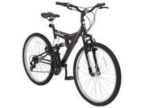 Mountain Bike Aro 26 Track & Bikes TB 200/PP - Aço Carbono Freio V-Brake 18 Marchas