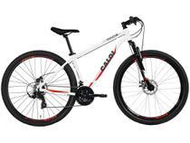 Mountain Bike Aro 29 Caloi Vulcan T15R29V21 - Alumínio Freio a Disco 21 Marchas