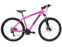 Mountain Bike Aro 29 Track Bikes TKS 29 PN - Alumínio Freio a Disco 21 Marchas