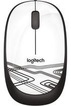 Mouse Com Fio Logitech M105 C/fio Usb Optico -