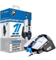Mouse Cougar Gaming Esports 700m White Edition 8.200 Dpi Laser - 3M700WLW.0001 -
