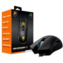 Mouse Cougar Gaming Revenger S Black 12.000 Dpi Pmw3360 (Rgb) - 3MRESWOB.0001 -