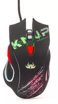Mouse Gamer 2400dpi 6 Botões KP-V30 Knup Vermelho - Knup importacao