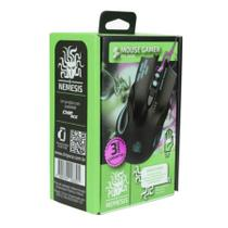 Mouse Gamer 6 Botões Nemesis Black Palm Grip -