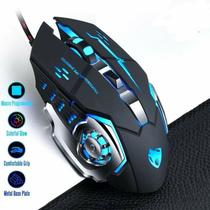 Mouse Gamer Com Fio Led Preto M08 Tek One