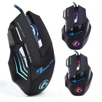 Mouse Gamer Laser X7 3200dpi Usb Led 7 Botões - Estone
