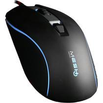 Mouse Gamer Mesh Gear Horus USB 2.0 óptico 4.000dpi LED RGB 4 botões 976 MESH -