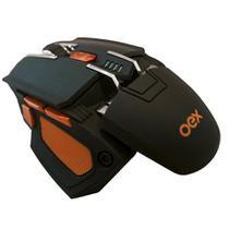 Mouse Gamer Oex Cyber Usb 5200 Dpi 7 Botões Preto Ms306 -