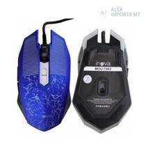Mouse Gamer Óptico Com Fio Original Inova Boa Qualidade Mou-7093 Mause - Alex Imports