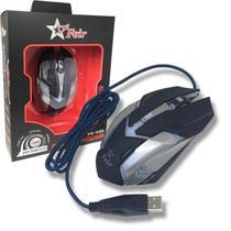 Mouse Gamer Óptico Gaming 5500dpi Com Cabo Usb Original FEIR FR 405 PRETO -