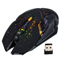 Mouse Gamer Sem Fio Recarregável Led Rgb HZ-911 Haiz - HAIZ SHOP