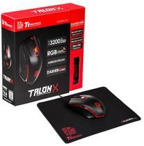 Mouse Gamer Thermaltake Sports Talon +Mousepad MOTLNWDOOBK01 -