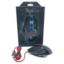 Mouse Gamer Xsoldado Com Led Infokit Conexão Usb Gm-601 -