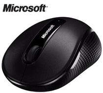 Mouse Microsoft 4000 Wireless Sem Fio Usb Bluetrack - Preto