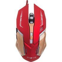 Mouse Óptico Gamer com LED - Inova