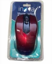 Mouse Optico Inova Mou-8607 Com Fio Vermelho -
