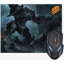 Mouse Optico Usb War Combo Mouse 2400dpi E Pad Newex Kit -