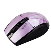 Mouse Óptico Wireless 1600dpi Roxo Diamond Newlink - Csl importadora ltda