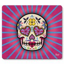 Mouse pad Caveira Mexicana Dia de Los Muertos - rosa - Yaay -