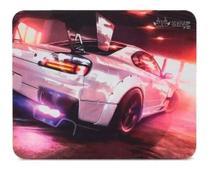 Mouse Pad Gamer Antiderrapante Alto desempenho estampado Carro Speed Tamanho 26x21 - KP-S03