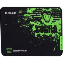 Mouse PAD Gamer Cobra Speed M PRETO/VERDE E-BLUE