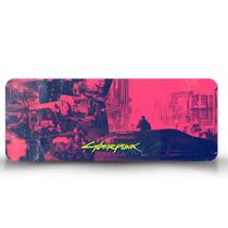 Mouse Pad Gamer Cyberpunk 2077 Pink - Império Da Impressão